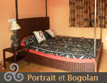 Les Chambres Portrait et Bogolan